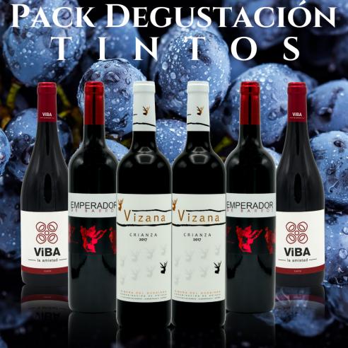 """Pack Degustación """"VB Tintos"""""""